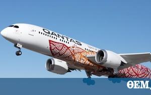 Qantas, Απευθείας, Αυστραλία, Βρετανία, Qantas, apeftheias, afstralia, vretania