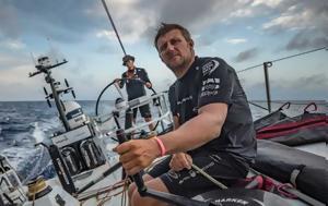 Χάθηκε Βρετανός, Volvo Ocean Race, chathike vretanos, Volvo Ocean Race