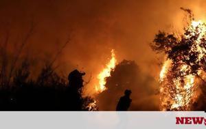 Φωτιά Ηλεία ΤΩΡΑ, Σπιάντζας, fotia ileia tora, spiantzas