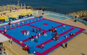 Εντυπωσιακό, Παγκόσμιο Πρωτάθλημα Τaekwondo Παραλίας, Ρόδο, entyposiako, pagkosmio protathlima taekwondo paralias, rodo