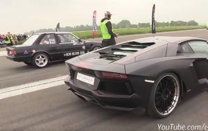 Lamborghini Aventador, BMW 325i E30 Turbo, 725
