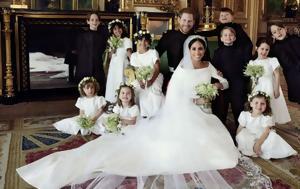 Οι πρώτες επίσημες οικογενειακές φωτογραφίες από τον γάμο της χρονιάς