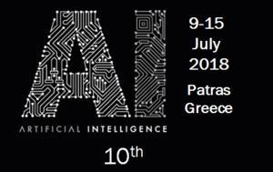 10ο Πανελλήνιο Συνέδριο Τεχνητής Νοημοσύνης - 9-15 Ιουλίου, 10o panellinio synedrio technitis noimosynis - 9-15 iouliou