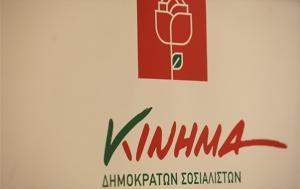 Κίνημα Δημοκρατών Σοσιαλιστών, Ανδρέας Παπανδρέου, kinima dimokraton sosialiston, andreas papandreou