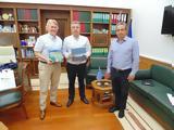 Συνάντηση Περιφερειάρχη Κρήτης, Νορβηγό Πρέσβη,synantisi perifereiarchi kritis, norvigo presvi