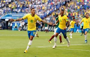 Βραζιλία, 8 – Κέρδισε 2-0, Μεξικό, vrazilia, 8 – kerdise 2-0, mexiko