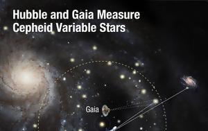 Hubble, Gaia