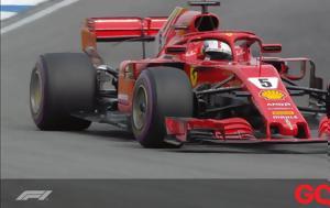 Pole, Vettel, Hamilton
