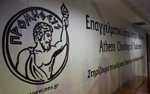 Αυξάνονται, Επαγγελματικού Επιμελητηρίου Αθηνών, afxanontai, epangelmatikou epimelitiriou athinon