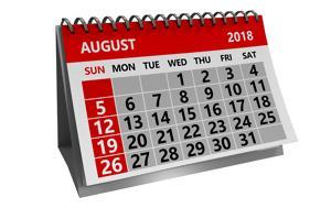 Σημαντικές, Αυγούστου 2018, simantikes, avgoustou 2018
