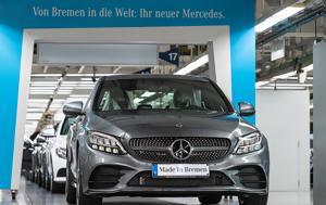 Mercedes C-Class, Παραγωγή, Mercedes C-Class, paragogi