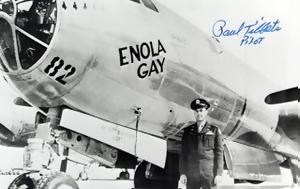 Πριν, Enola Gay, prin, Enola Gay
