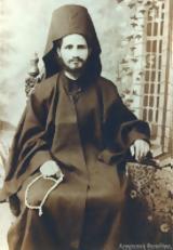 10957 - Ιερομόν, Βασίλειος Ξηροποταμηνός 1875 - 9 Αυγούστου 1961,10957 - ieromon, vasileios xiropotaminos 1875 - 9 avgoustou 1961