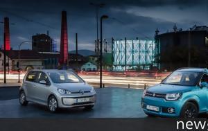 Συγκρίνουμε, Suzuki Ignis VS Volkswagen Ε-UP, sygkrinoume, Suzuki Ignis VS Volkswagen e-UP