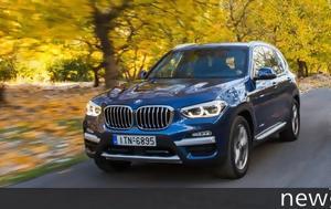 Τest, BMW X3 Drive20d, test, BMW X3 Drive20d