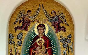 Θαυματουργό Αγίασμα, Ιεράς Μονής Παναγίας Δοβρά, thavmatourgo agiasma, ieras monis panagias dovra
