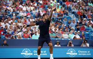 Τένις, Ντεμπούτο, Φέντερερ, Σινσινάτι, tenis, ntebouto, fenterer, sinsinati