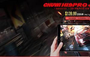 Chuwi Hi9 Pro, 8 4 QHD -core, 4G LTE