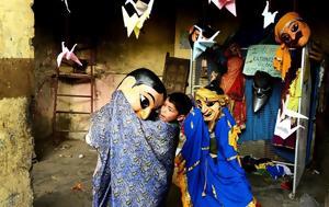 Μαριονετίστες Μαριονετίστριες, marionetistes marionetistries