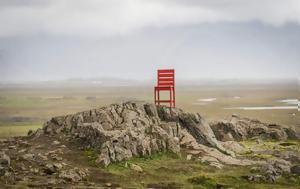 Μία, Ισλανδία – Αυτή, Κόκκινη Καρέκλα, mia, islandia – afti, kokkini karekla