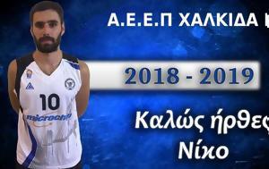 ΑΕΕΠ ΧΑΛΚΙΔΑ BC, Μανιάτης, aeep chalkida BC, maniatis