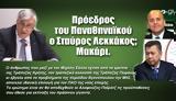 Πρόεδρος, Παναθηναϊκού, Σταύρος Λεκκάκος Μακάρι,proedros, panathinaikou, stavros lekkakos makari