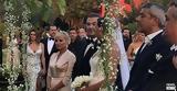 Παντρεύτηκαν Αντώνης Ρέμος - Υβόννη Μπόσνιακ,pantreftikan antonis remos - yvonni bosniak