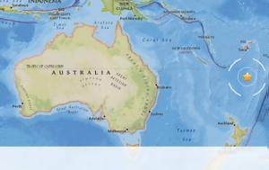 Ισχυρός σεισμός, Ειρηνικό Ωκεανό, ischyros seismos, eiriniko okeano