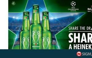 Heineken, UEFA Champions League