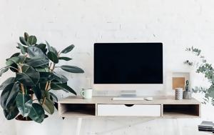 """5 """"εύκολα"""" φυτά για να ομορφύνεις το γραφείο σου"""