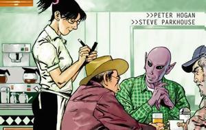 Πιλοτικό, Resident Alien, Dark Horse Comics, Syfy, pilotiko, Resident Alien, Dark Horse Comics, Syfy