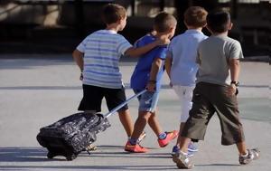 Ένας μαθητής θα πάει σχολείο από το κέρδος ή όχι ενός ιδιοκτήτη λεωφορείου;