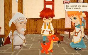 Little Dragons Cafe, Χαριτωμένη, Harvest Moon, Little Dragons Cafe, charitomeni, Harvest Moon