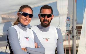 Παπαδοπούλου-Μούγιος, 470, Sailing Marathon, papadopoulou-mougios, 470, Sailing Marathon