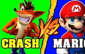 Κλέφτες, Αμαρτωλοί, Crash Bandicoot, Super Mario, kleftes, amartoloi, Crash Bandicoot, Super Mario