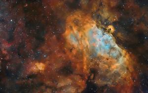 M16, Around, Eagle Nebula