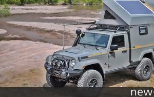 Camper, Jeep Wrangler