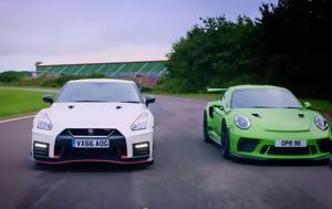 Porsche 911 GT3 RS Vs Nissan GT-R Nismo, Fifth Gear