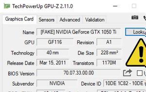 CPU-Z, Nvidia