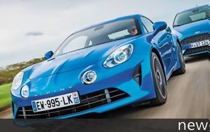 Σύγκριση, Alpine A110, Ford Fiesta ST, sygkrisi, Alpine A110, Ford Fiesta ST