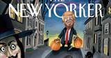 Ξανά, New Yorker, Ντόναλντ Τραμπ, Halloween,xana, New Yorker, ntonalnt trab, Halloween