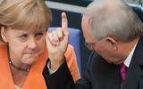 Σόιμπλε, Μέρκελ, CDU,soible, merkel, CDU