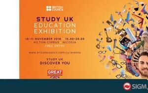 British Council Study UK Education Exhibition 2018