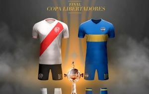 Copa Libertadores, Πέρασε, Μπόκα Τζούνιορς, – Πρώτη, Copa Libertadores, perase, boka tzouniors, – proti
