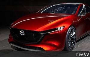 Νέο Mazda 3, Πιάστηκε, neo Mazda 3, piastike