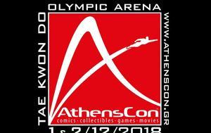 AthensCon 2018, Comic, Pop Culture, Ελλάδας, AthensCon 2018, Comic, Pop Culture, elladas