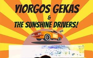 Yiorgos Gekas #x26, Sunshine Drivers Live, Diesel Cafe