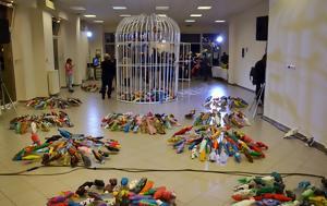 «Τα πουλιά της ελευθερίας» – Ένα συνεργατικό έργο τέχνης για τους πρόσφυγες