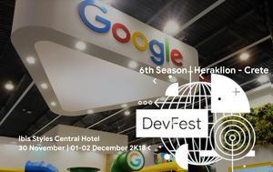Tο Google Developers Festival Greece 2018, Ηράκλειο, To Google Developers Festival Greece 2018, irakleio