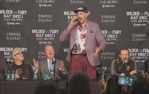 Tyson Fury, American Pie, Τύπου, Tyson Fury, American Pie, typou